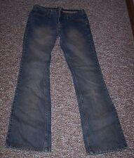 Women's Juniors Squeeze Jeans Size 3/4 Stephen Hardy Low Rise Boot Cut EUC