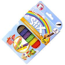 Artline Stix Colouring Marker Pens for Lego lovers, Build & Draw: Pack of 8 Pens