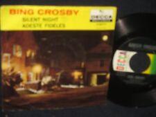 "Bing Crosby ""Silent Night/Adeste Fidelis"" 45"