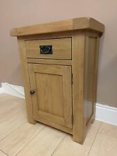 Kingsford Oak Small Cupboard / Rustic Side Table / Telephone Stand / Storage