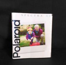 Instruction Manual for 1994 Vintage Polaroid Spectra AF Instant Camera