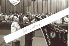 Armeegeneral Erich Mielke Honecker MfS Ehrenbanner 10x15cm