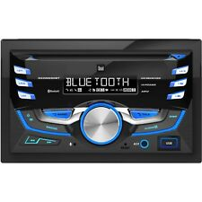 Car Dual Double-DIN AM/FM Tuner with CD Player Bluetooth (DXDM280BT) ™