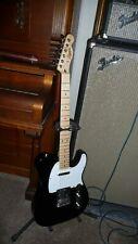 Squier by Fender Black Telecaster