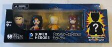 Dc Superheroes Mini Mezitz 5 Figure Justice League Pack Mezco 2015 Mib