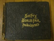Shepp's World's Fair Photographed, Globe Bible Publishing Co., 1893