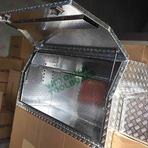 Aluminium Toolbox 1700x600x820mm Full Open Door Ute Truck tool box