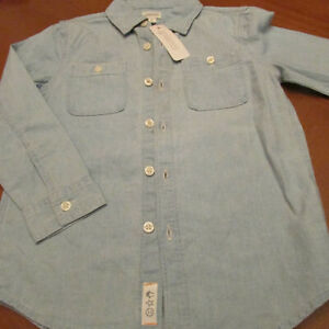 Gymboree Denim Shirt,Szie 4(xs),NWT