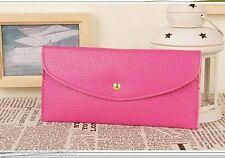 Pink wallet purse faux leather cards and money Wrist Bag Vintage Purse Wallet