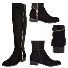 Block Zip Unbranded Riding, Equestrian Women's Boots