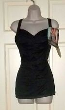 Carol Wior Slimsuit Bathing Suit Underwire Vintage NWT 6150 Size 14 Made in USA