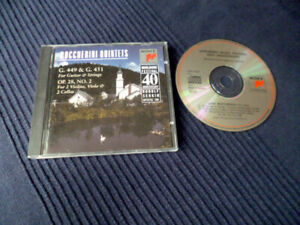 CD Boccherini Quintets Guitar & Strings Marlboro Festival Rudolf Serkin SONY