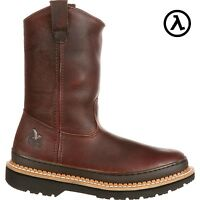 GEORGIA GIANT WELLINGTON PULL-ON WORK BOOTS G4274 * ALL SIZES - NEW