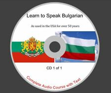 Learn Bulgarian - Complete Audio and Text Course on 1 CD Rom Disk