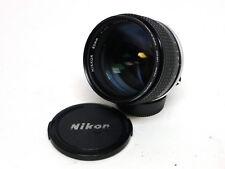 Nikon 85mm f1.4 Ai-S MF Portrait Lens f/ Film & Digital SLR NICE