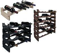 RTA Modular Traditional Wine Racks Wood 6 Bottle - 36 Bottle NO TOOLS NEEDED