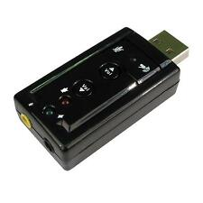 Newlink 7.1 Sound USB 3D Stereo Audio Adapter, Fast & Free UK Shipping