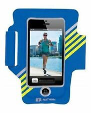 Nathan SuperSonic 2 for iPhone 5 Music/Phone Arm Band Blue/Yellow NEW