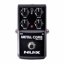 Guitar Distortion Pedal Nux Metal Core Deluxe New Mini Effects Pedalboard
