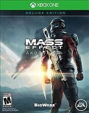 Mass Effect: Andromeda -- Deluxe Edition (Xbox One, 2017) + Unused DLC MINT!
