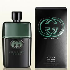 Gucci Guilty Black Pour Homme for Men EDT 90ml | Genuine Gucci Perfume