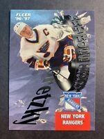 1996-97 Fleer Skybox Art Ross Trophy Winner #6 Of 25 Wayne Gretzky NYR/STL Blues