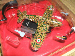 WWII Macchi MC.205 italian fighter 360 squ. 51 Italy 1944 diecast IXO 1:72 metal