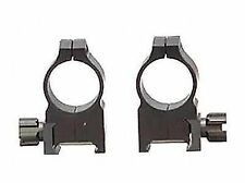 """Warne Rifle Scope 1"""" Tactical Rings High Matte 602m"""