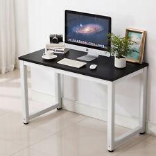 Computer Desk Pc Laptop Table Workstation Home Office Furniture Board Black
