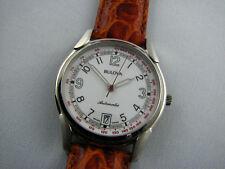 Bulova Herren- oder Damen-Armbanduhr Pulsometer NOS Automatik ETA 2892-2