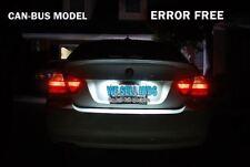 BMW X3 E83 04-10 Hielo Blanco LED Canbus C5W Número De Matrícula Cromado 3 SMD brillante