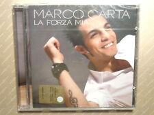 MARCO CARTA  -  LA FORZA MIA  -  CD 2009  NUOVO E SIGILLATO