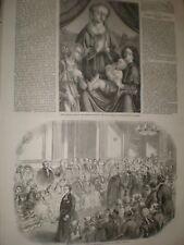 Los chicos en la mansión casa Bluecoat 1859 impresión ref Ax