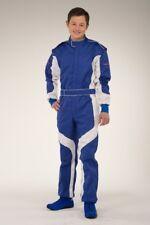Kartoverall, Kartanzug, keep-racing® Cruiser Overall, blau/weiß, Größe 76(5XL)