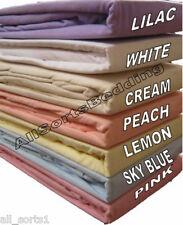Cama Doble flannelette Juego De Sábanas 100% algodón peinado suave y acogedor Cielo Azul Invierno