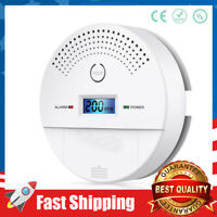 Combination Smoke Detector and Carbon Monoxide Detector Alarm Battery Operated