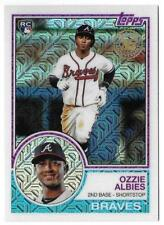 2018 Topps Silver Pack S1 OZZIE ALBIES RC Rookie Card Atlanta Braves #26