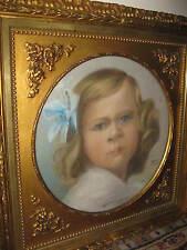 WILHELMI Theodor, *XIX.Jhd. Wundervolles Mädchenportrait