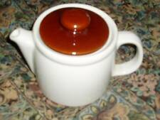 McCoy teapot 1418 with brown lid
