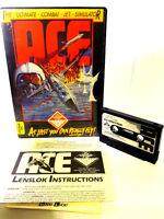 SPECTRUM 48K CASSETTE GAME -- ACE THE ULTIMATE COMBAT JET SIMULATOR -- 1986