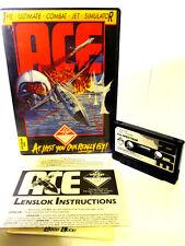 Rétro spectrum cassette jeu-Ace L'Ultime Combat Jet Simulator