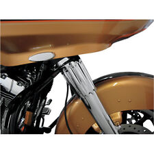 Paul Yaffe Bagger Nation Chrome Yafterburner Fork Slider Covers  86-13 Harley FL