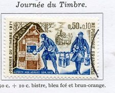 STAMP / TIMBRE FRANCE OBLITERE N° 1671 JOURNEE DU TIMBRE FACTEUR