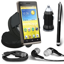 Windscreen Car Holder, USB Charger, Pen, Data Cable & Earphone For EE Kestrel