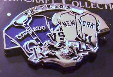 2013 Colorado Rockies NY New York Yankees jerseys lapel pin 300 made Coors Field