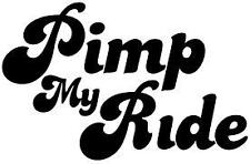 pimp my ride fun novelty car bonnet side sticker vw peugeot ford bmw vauxhall