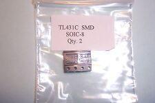 TL431 TL431C SMD SOIC - 8 Ajustable regulador de derivación 2.5 a 36 V Nuevo Qty.2