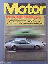 R&L Mag Motor 22 Feb 1975: Vauxhal Viva 1300/Opel Manta Turbo/James Hunt