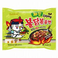 NEW SAMYANG KOREAN FIRE NOODLE CHALLENGE HOT CHICKEN FLAVOR RAMEN SPICY JJAJANG