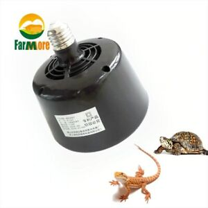 Heating Lamp with Fan 5~100W Pet Heater Insulation Incubator  Box Temperature